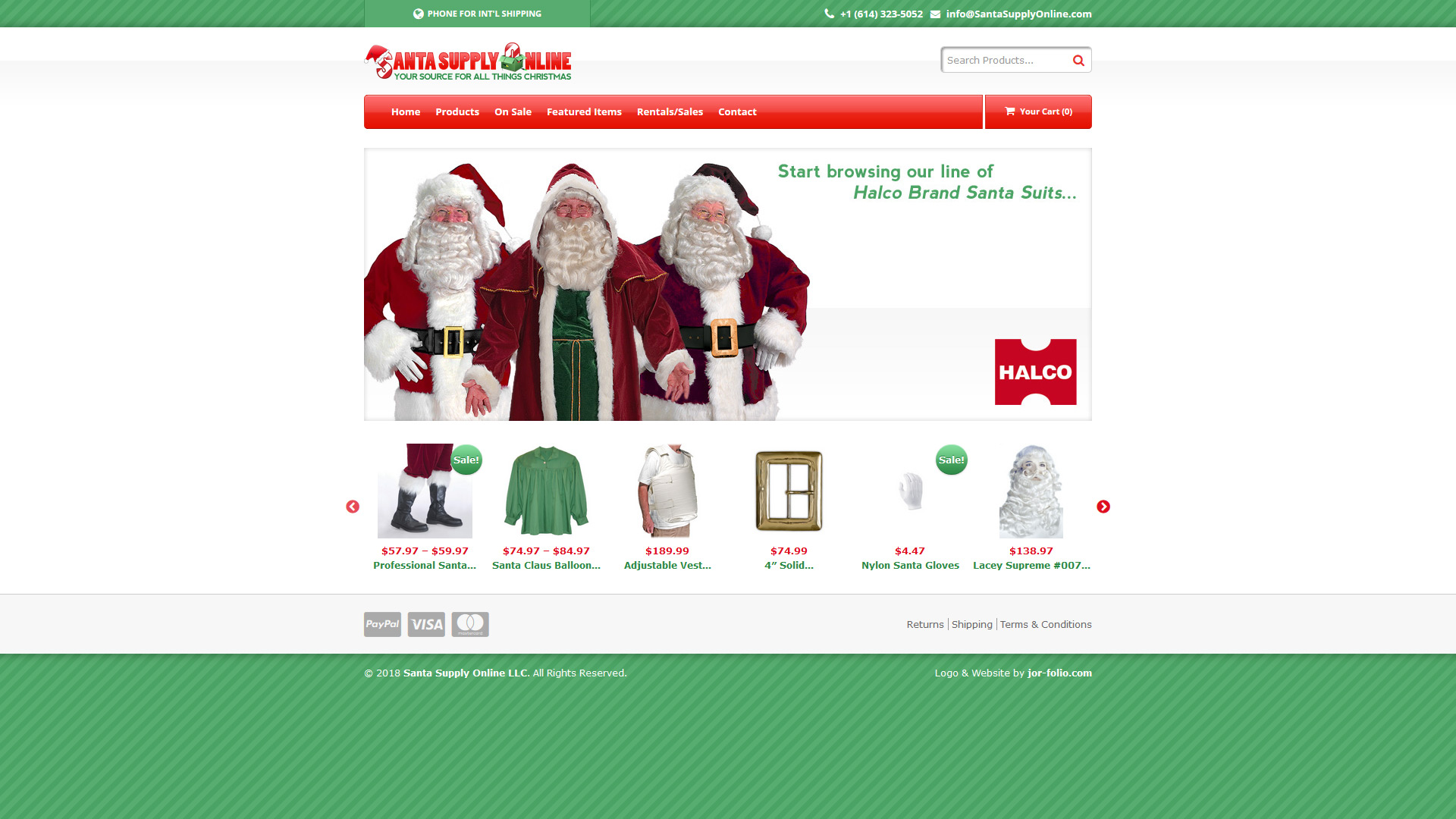 Santa Supply Online | http://santasupplyonline.com